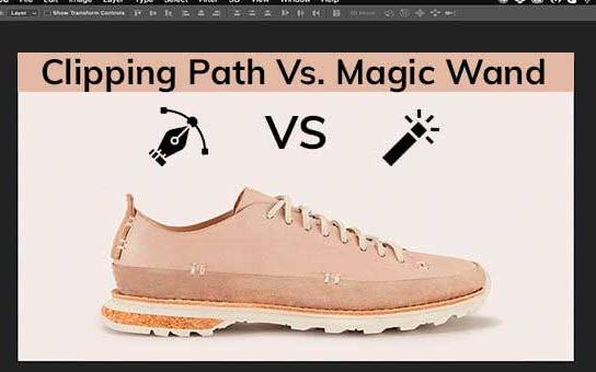 Clipping Path Vs. Magic Wand